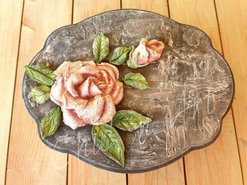 Sculpture Painting- Roses