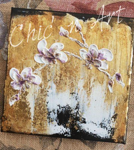 Orhidee in stil Dolce @ Atelierul Chic'n Art